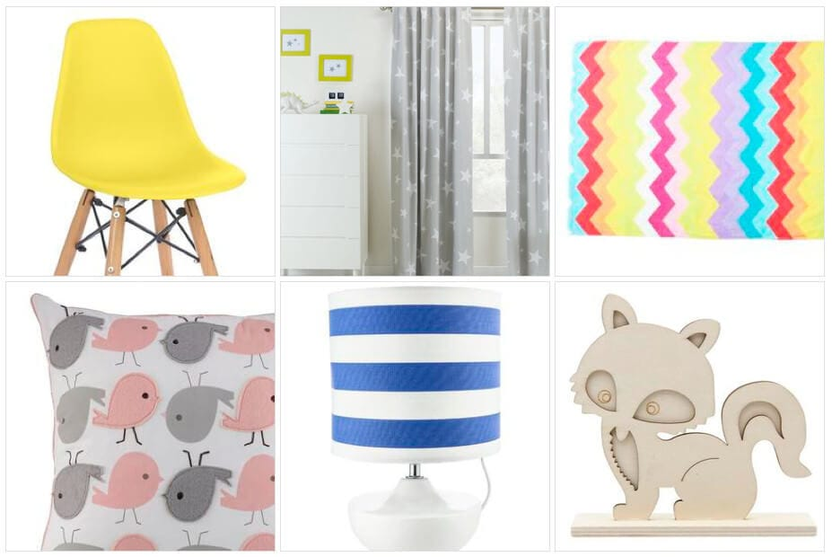 Kids Bedroom Decor Ideas from Spotlight