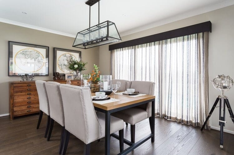 Provincial Trader Trend - Dining Room - Metricon Homes