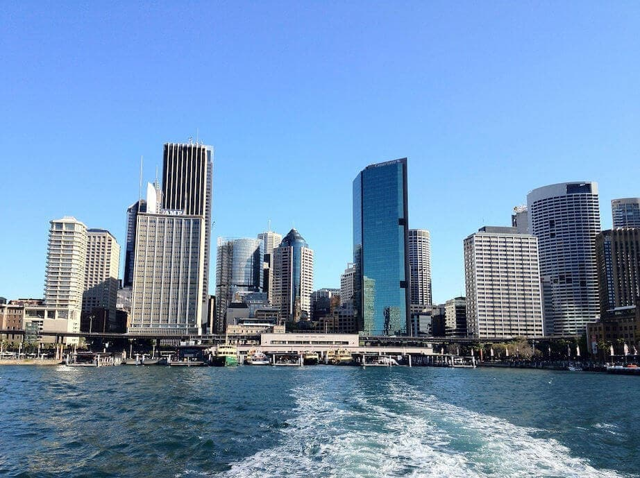 Sailing on Sydney Harbour - TLC Interiors