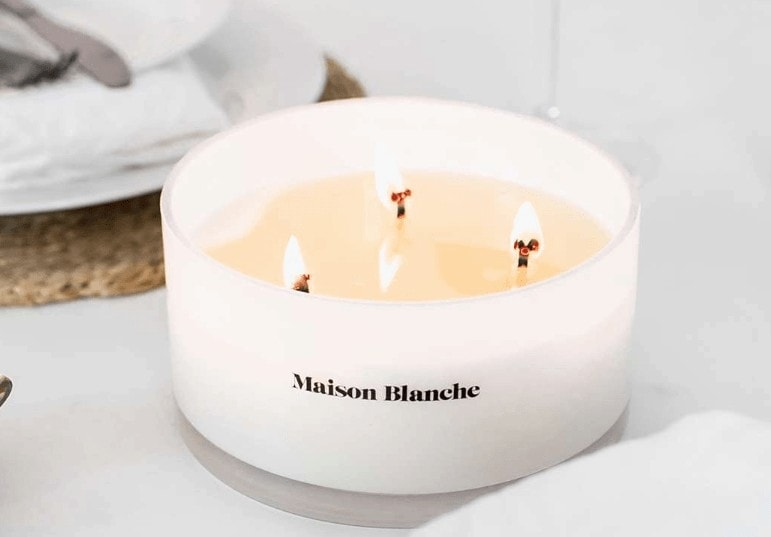 maison blanche candles