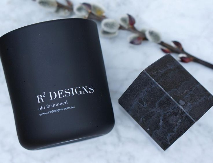 r2 designs black scented candle best aussie candles