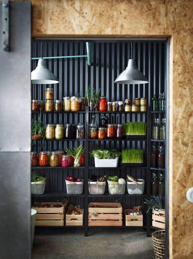 2016 ikea catalogue - kitchen storage ideas and organisation