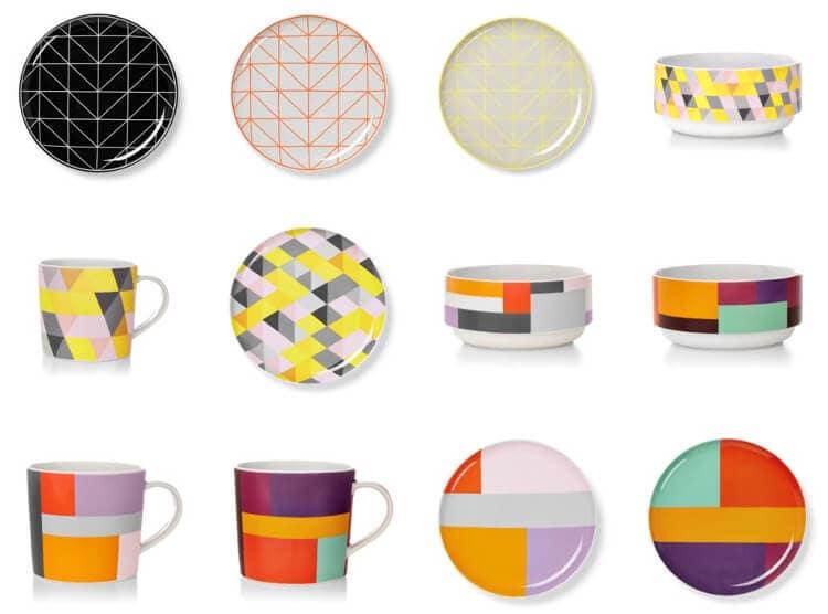 AURA Home Ceramics range - Spring 2015 Tableware