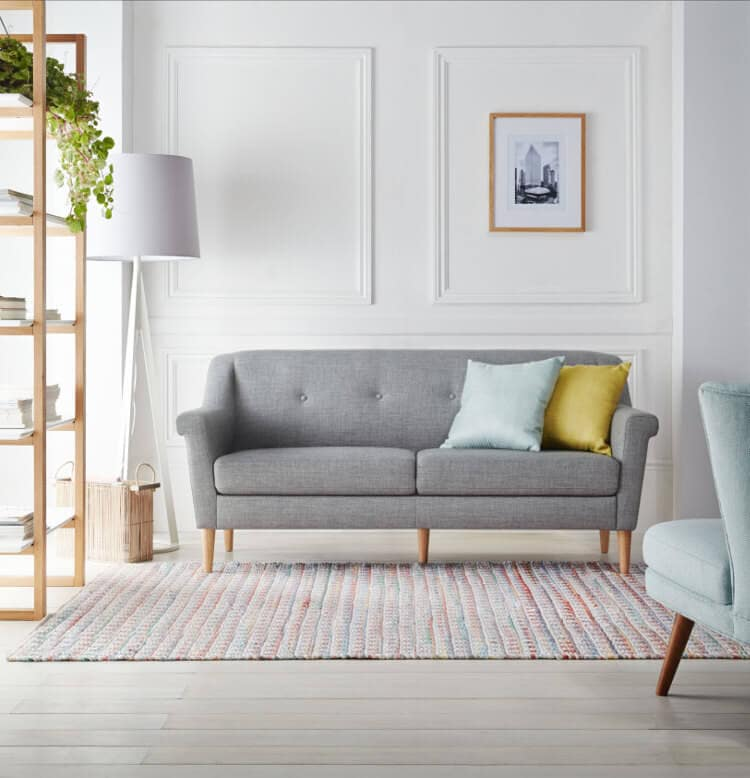 Camilla Sofa in grey from Freedom Furniture