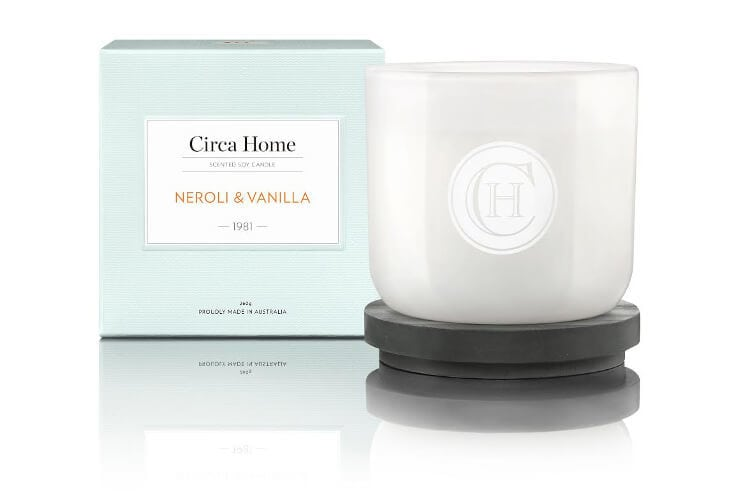 Circa Home Neroli and Vanilla Scented Candle
