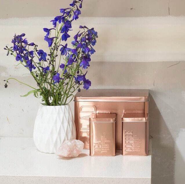 KMart Metallic kitchen Canisters - The Life Creative