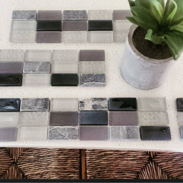 Kitchen Tiles for Budget Kitchen Makeover - from Bunnings