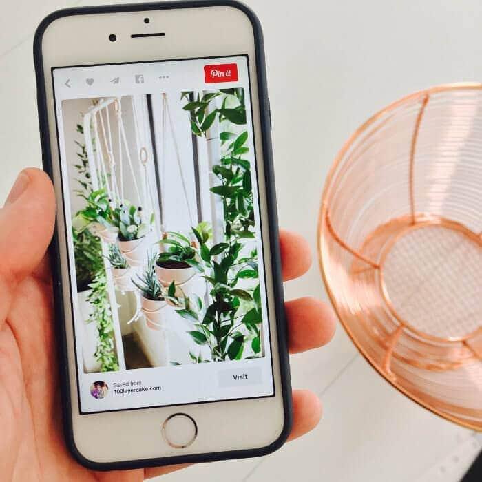Pinterest App for iPhone - TLC Interiors