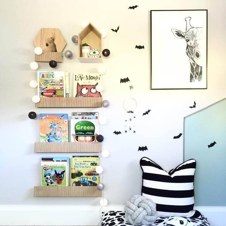 Shelving ideas for kids rooms - boys bedroom ideas