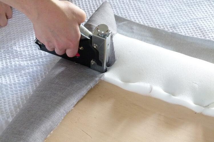 Step 5- DIY headboard tutorial