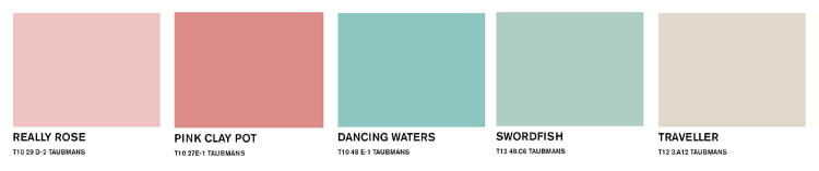 Taubmans Spring Paint Colours - 2015 Paint colours