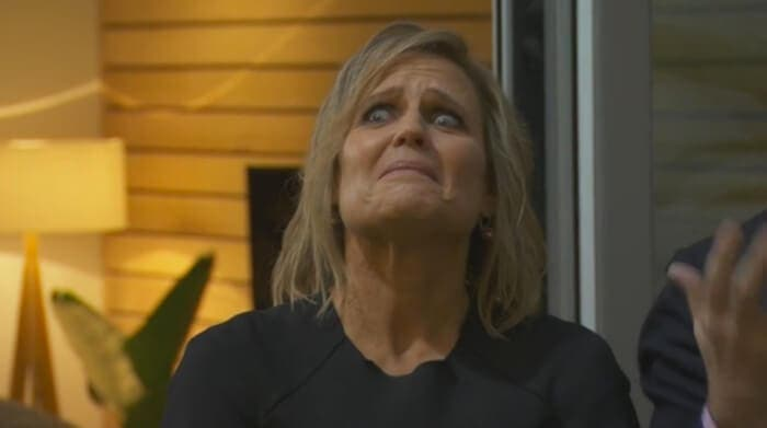 The Block 2014 - Shaynna Blaze reacts to Shannon and Simon's Terrace