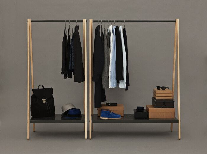 Toj Clothes Rack by Norman Copenhagen - Available at Curious Grace