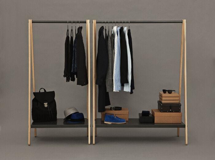 Toj Clothes Rack by Norman Copenhagen - Available at Curious Grace