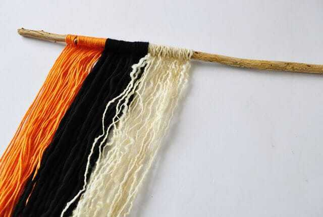 Wool Wall Hanging Step 3 - pic 4