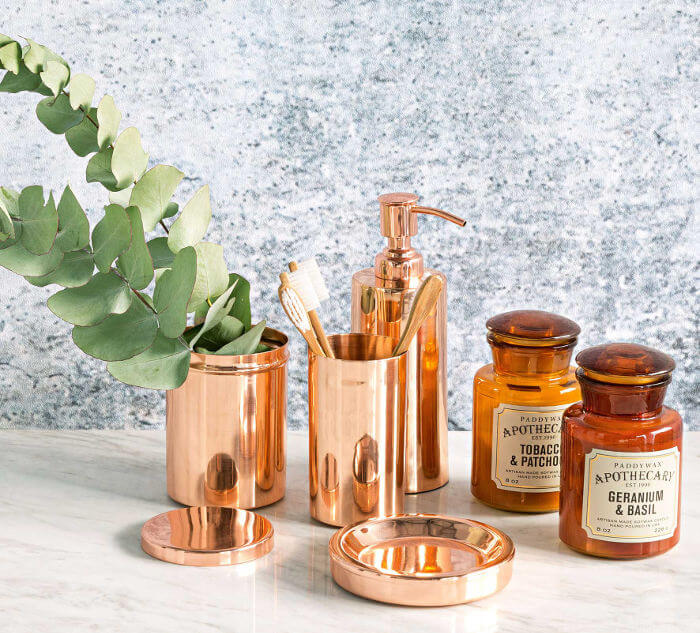 Copper Homewares and Copper Decorating on The Life Creative Blog