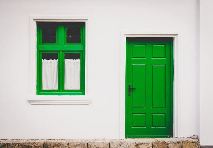 Coloured Front Doors Choosing Colours How To Paint Tlc Interiors