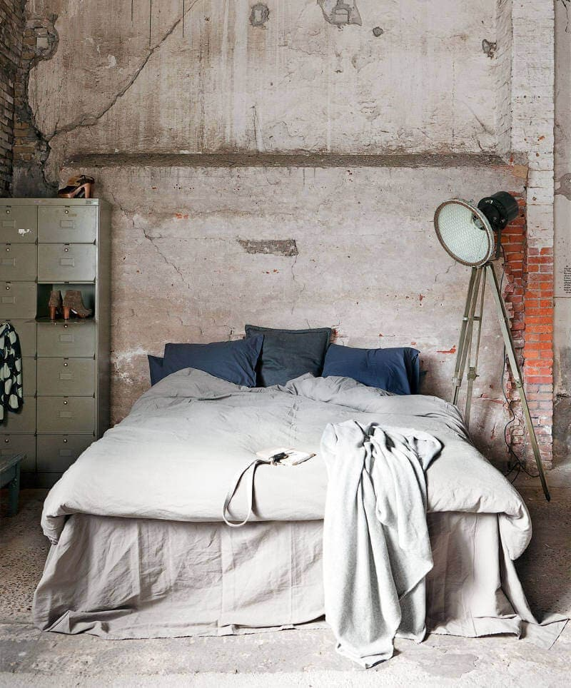 Industrial Design Ideas - Industrial Bedroom with Exposed Brick Wall The Life Creative