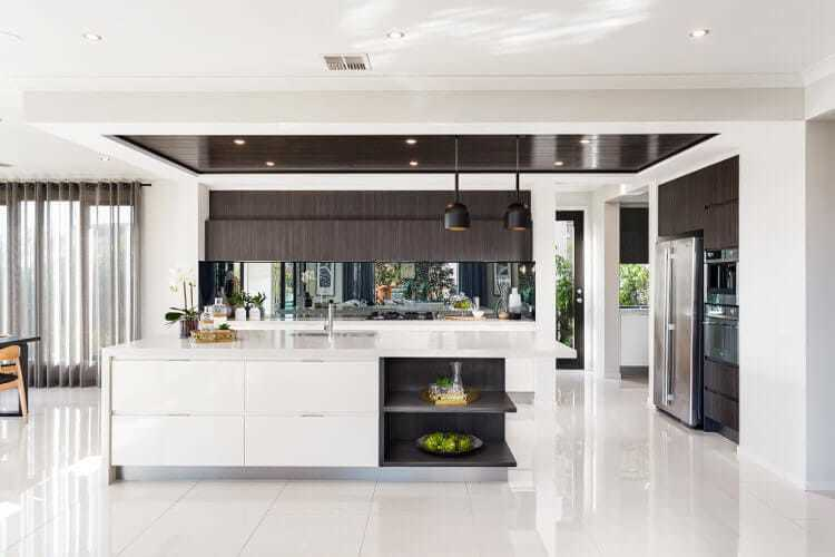 Black Label Interior Trend from Metricon Homes