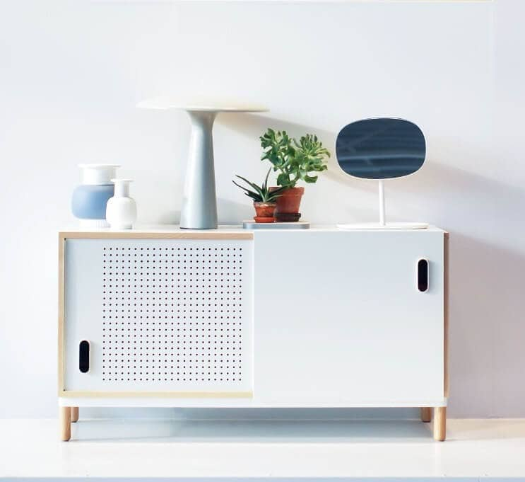 Normann Copenhagen Kabino Sideboard in White from Curious Grace