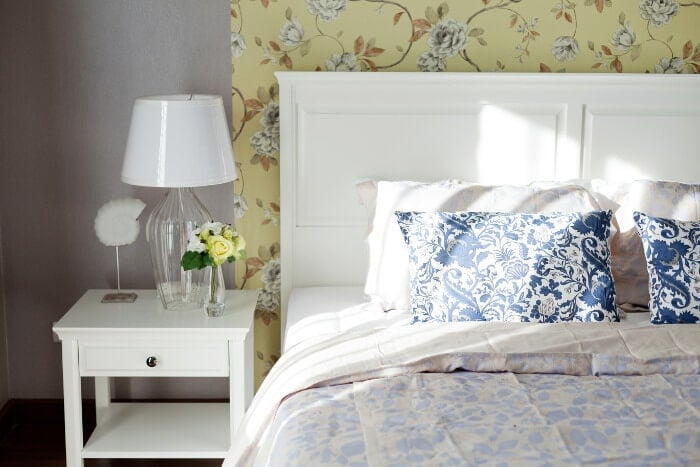 Sustainable House Design - Vintage Bedroom Styling on The Life Creative