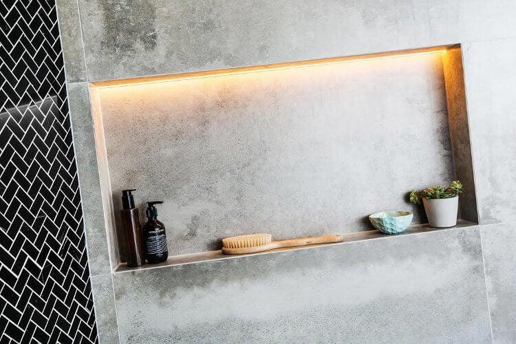 The Blocktagon Bathroom Reveals - Dean and Shay Bathroom 1