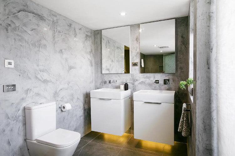 The Blocktagon Bathroom Reveals Kingi and Caro Bathroom 1