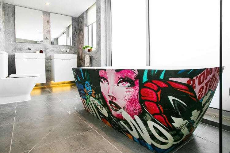 The Blocktagon Bathroom Reveals Kingi and Caro Bathroom 2