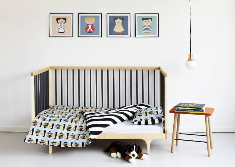 Urbaani Homewares baby Boy Bordfolk Bedding Set by Lucie Kaas The Life Creative Shop