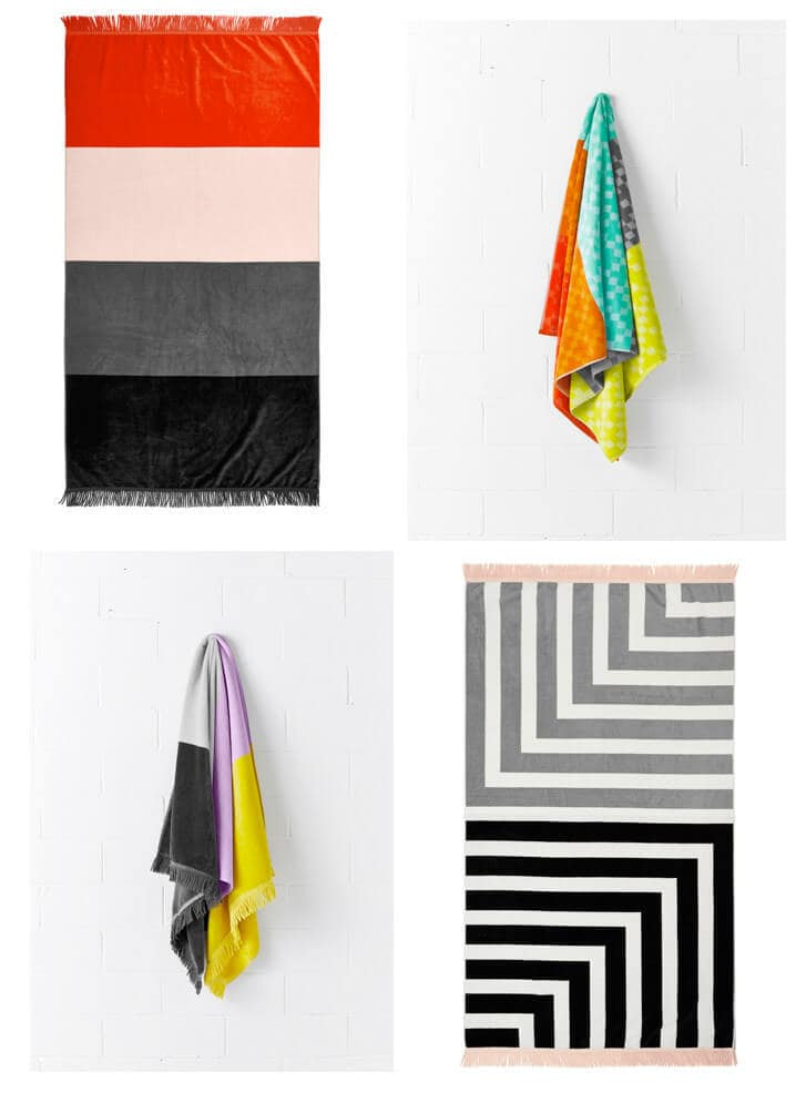 AURA Home Beach Towels on The Life Creative