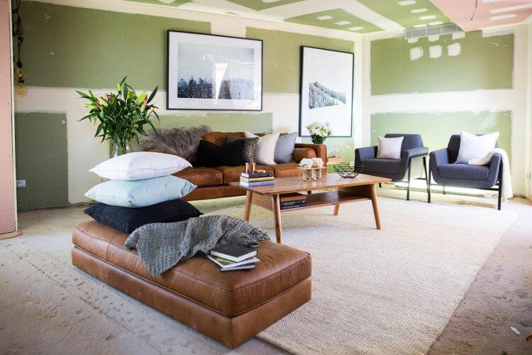 Blocktagon Living Room Reveals Dean and Shay Living Room