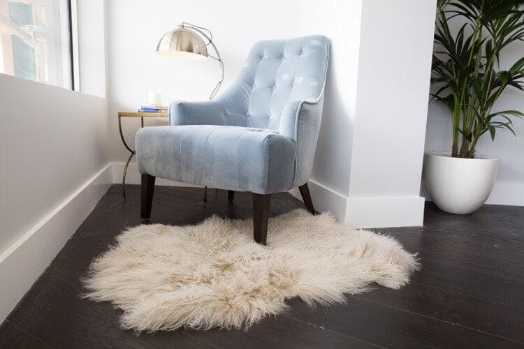 Blocktagon Living Room Reveals Luke and Ebony Living Room Armchair