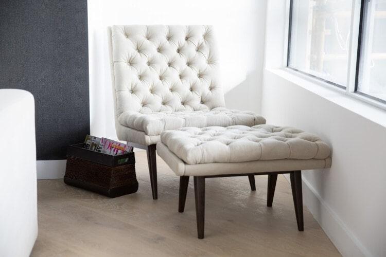 Blocktagon Living Room Reveals Suzi and Vonny Armchair