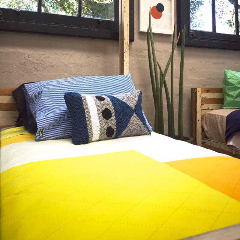 Blue and Yellow Bedding from koskela Sydney