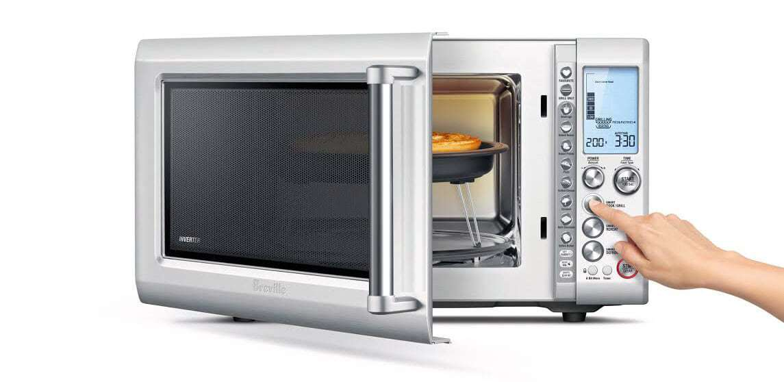 Breville Microwave Quick Touch Crisp The Life Creative
