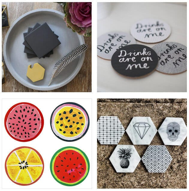 Coasters from Freedom Stone Inspired and Etsy