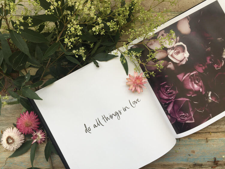 Flower Book - Eternize by Amerlia Holland and Lauren Hung