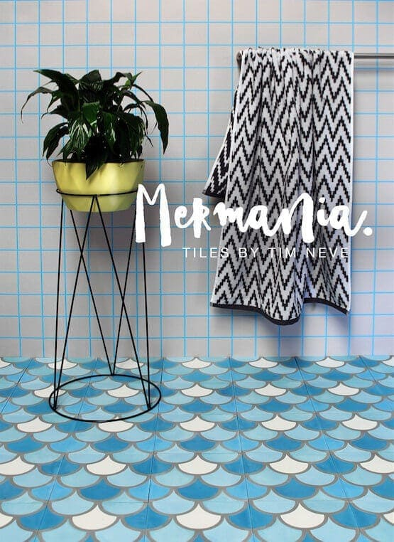 Mermania Tiles by Tim Neve