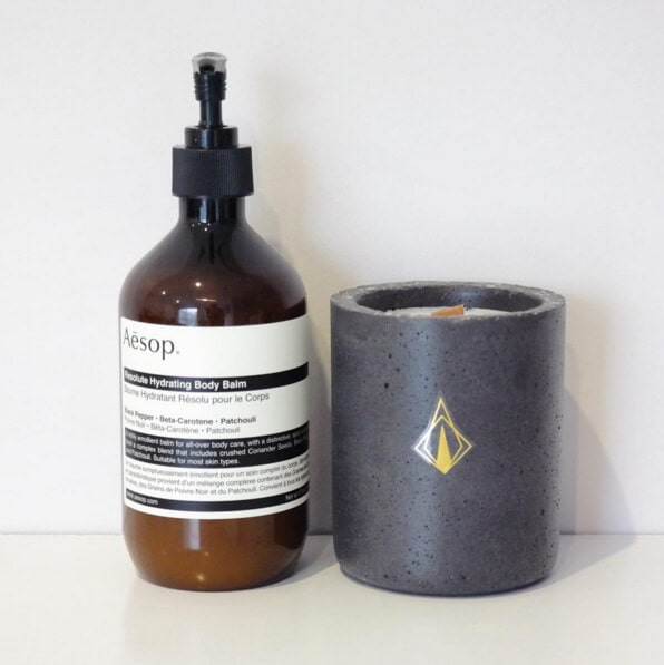 Scented Concrete Candles by Tanda in The Life Creative Shop