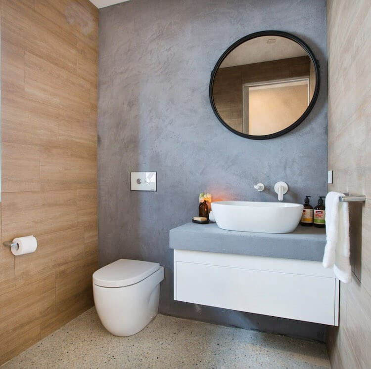 Blocktagon Challenge Apartment - Caro and Kingi Bathroom