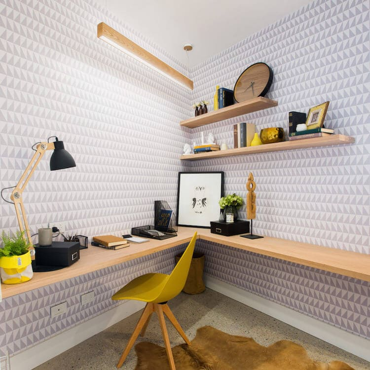 Blocktagon Challenge Apartment Caro and Kingi Office