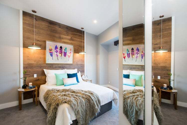 Blocktagon Challenge Apartment Reveals Luke and Ebony Bedroom 1