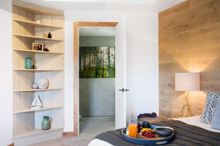 Blocktagon Challenge Apartment Suzi and Vonny Master Bedroom