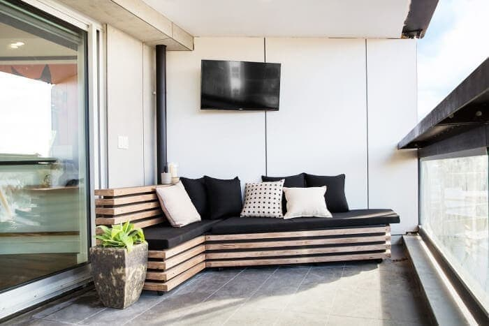 Blocktagon Terrace Reveals Kingi and Caro Terrace