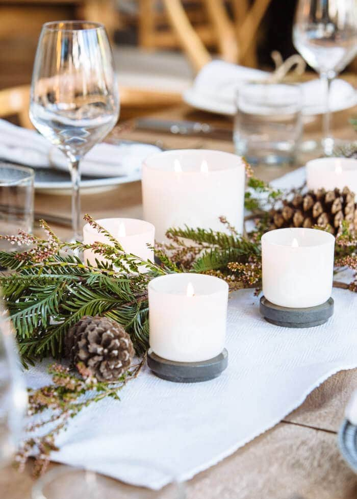 Christmas Table Styling Ideas from Circa Home on The LIfe Creative