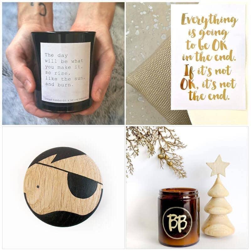 Christmas gift ideas on The Life Creative Shop