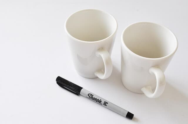 DIY Shaprie Mug Tutorial Step 1
