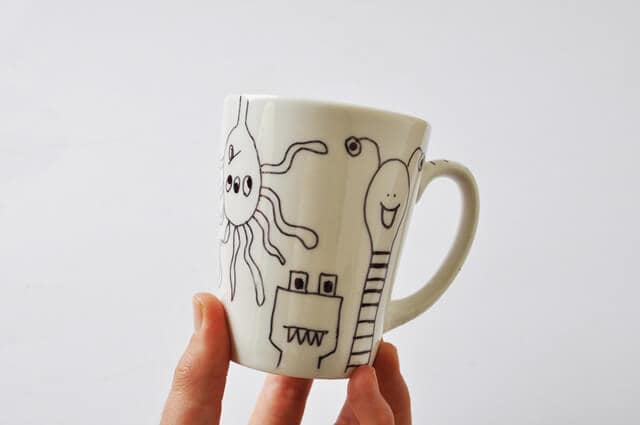 DIY Sharpie Mug Tutorial Finished Mug