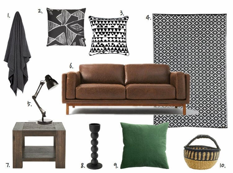 Modern Man Cave with Tribal Influences on The Life Creative