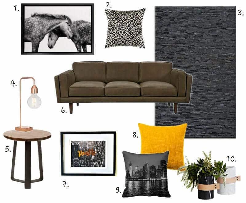 New York Loft Apartment Mood Board on The Life Creative